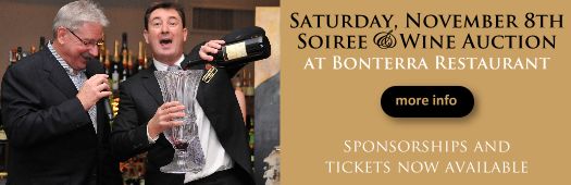 CLick for tickets to the 2014 Soiree & Wine Auction